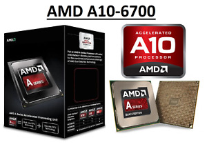 AMD A10-6700 Quad Core ''Richland'' Processor 3.7 - 4.3 GHz, FM2, 65W CPU