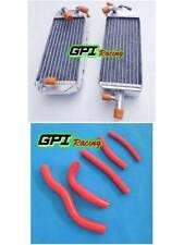 GPI Fit Suzuki RM125 RM 125 T/V 1996 1997 97 Aluminum  Radiator +hose