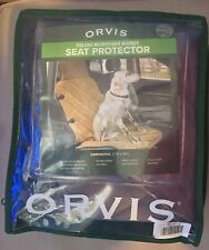 New listing Orvis Deluxe Microfiber Bucket Seat Protector Gray Dog Padded ~8~