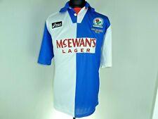 Blackburn Rovers Home football shirt 1994-95 Soccer Jersey Large *VGC*