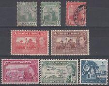 TRINIDAD & TOBAGO lot de 8 timbres oblitérés