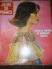 Jours de France N 1075 175 Isabelle Adjani michele morgan oury st tropez charden