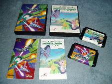 Dinoland & Volfied 2 games ~ Japanese Sega Mega Drive / Genesis - Complete