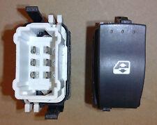 Interrupteur commande bouton leve vitre Clio 2 phase 2 et Campus droit passager
