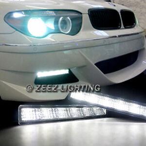 Xenon White 6 LED Daytime Running Light DRL Daylight Kit Driving Fog Lamp C96