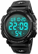 CIVO Mens Digital Sports Military Watches Big Numbers 50M Waterproof Simple Desi