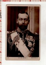 H.M. King George V. Rotary Photo England Real Photo Picture Postcard #69779