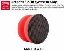 Griot's Garage Brilliant Finish Synthetic Clay, Hand-Held Clay Replacement 10691
