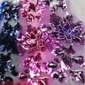 1Pcs Sequins 3D Flowers Embroidery Lace Flower Dress Lace Applique