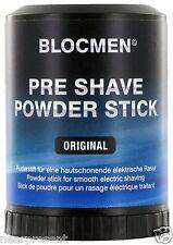BLOC MEN © pre shave Powder Stick ORIGINALE 60g (100g = 14,92 euro) WW shipment