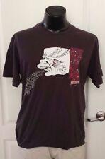 Quiksilver Howell Surfing Skateboard Beach Gray T Shirt XL Vintage Print Rare