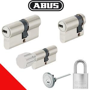 ABUS EC 550 Profilzylinder Gleichschließend Schließanlage mit 5 Wendeschlüssel