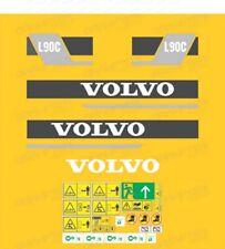 Volvo L90C Wheel Loader Decals / Stickers ( Complete Set / Kit )