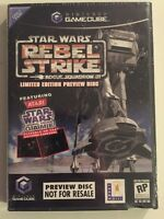 Brand New & Sealed Star Wars Rogue Squadron III: Rebel Strike Preview Disc