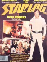 Starlog Magazine Buck Rogers The Movie No.21 April 1979 112617nonrh