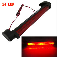 Red 24 LED Car Rear Windshield Dash High-Mount Warning 3RD Brake Stop Lamp Light