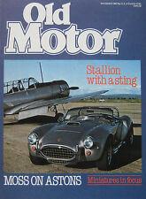 Old Motor 11/1980 featuring Pininfarina, Volvo 'Amazon' 121-1, Aston Martin