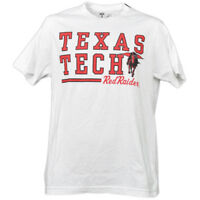 NCAA Texas Tech Red Raiders White Underline Logo Mens Tshirt Tee Short Sleeve