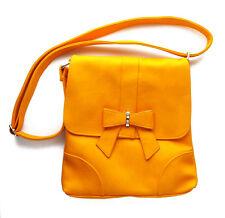 Cross Body Bag YELLOW Messenger Bag Birthday Gift Girls