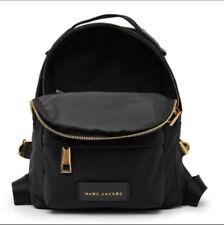 Marc Jacobs Nylon Varsity Mini Backpack - BLACK