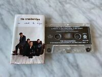 The Cranberries No Need To Argue CASSETTE Tape 1994 Island Dolores O'Riordan OOP