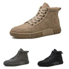 Mens High Top Sneakers Boots Boards Shoes Outdoor Walking Sports Breathable 44 D