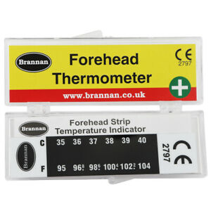 FOREHEAD THERMOMETER STRIP BABY FEVER KIDS CHILD CHECK TEST TEMPERATURE 11/465/3