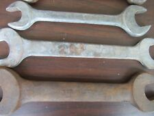 VINTAGE 9 PC USA MADE WRENCHES WRENCH VLCHEK BILLINGS BARCALO DROP FORGED   E