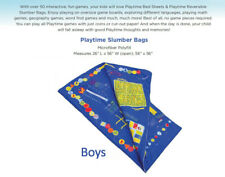 "Playtime Boys 26"" x 56"" 25 Game Slumber Bag"