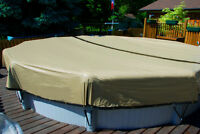 24' Round Yard Guard HPI Ultimate ArmorKote Above Ground Pool Winter Cover
