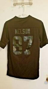 #87 Jordy Nelson Green Bay Packers shirt  *Unique*  Small Adult