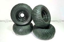 Set (x4) Slick road tire / tyre and rim 13x6.5-6 - Go kart buggy