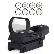 20mm Rail Red Dot Sight Reflex Green Holographic Scope Tactical 4 Rifle Mount AU