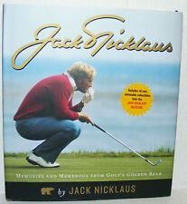 Jack Nicklaus Memories & Mementos from Golf's Golden Bear (2007)HC.DJ. Signed BP
