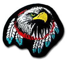 EAGLE Dream Catcher Indian Patch Iron On Jacket Harley Biker Rider Tattoo Badge