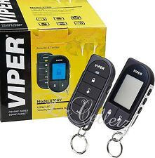 VIPER 5706V Alarm 2-Way Car Security System + Keyless Remote Start REFURBISHED