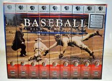 Baseball a flm by Ken Burns-PBS Home Video-9 Tapes.