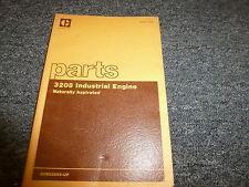 Caterpillar Cat 3208 Industrial Engine Parts Catalog Manual Book S/N 90N52893-Up