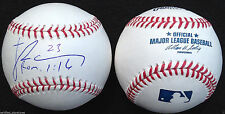 JAMES RAMSEY SIGNED OMLB BASEBALL ST LOUIS CARDINALS 1ST RD PICK AUTOGRAPHED J4
