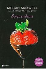 Sorpréndeme (Spanish) Paperback by  Megan Maxwell