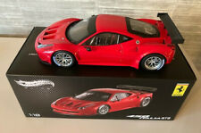 Ferrari 458 Italia GT2 Hot Wheels Elite 1/18