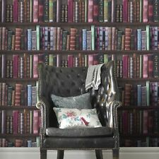 Fresco Great Value Book Shelf Bookcase Library Wallpaper