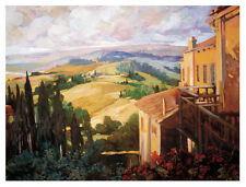 "Canadian Artist, Philip Craig  "" View to the Valley "" Large print"