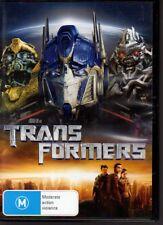 TRANSFORMERS - DVD R4 Shia LaBeouf  LIKE NEW - FREE POST