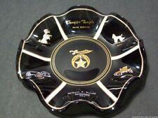 1964 Shriners Tangier Temple Omaha Nebraska Masonic Potentate Glass Ashtray Vtg