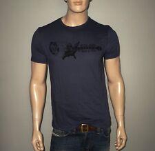 NEW John Varvatos United States Rock N Roll Graphic T-Shirt Twilight Blue Medium