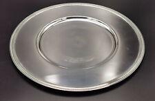 CHRISTOFLE Assiette de présentation en métal argenté modèle ELEMENTAIRE
