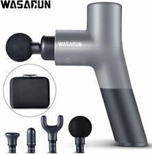 Muscle Massage Gun, WASAGUN Professional Handheld Vibration Massager Device with