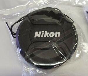 Nikon 55 MM Lens Cap Center Pinch 2 Pack