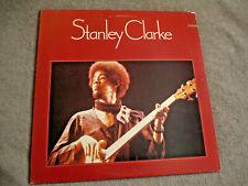 New listing STANLEY CLARKE Self Titled VINTAGE '74 LP NEMPEROR NE-431 JAZZ FUSION NM Album